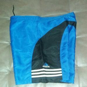 XL Vintage 90s ADIDAS Nylon Board Shorts rap rock